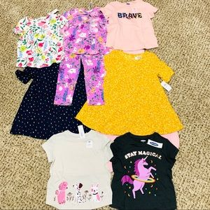 OLD NAVY toddler girl CUTE bundle - NWT- size 2T